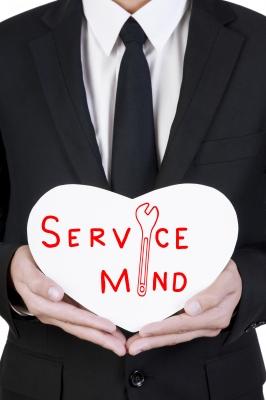 service minded Businessman. Artist:   pakorn/Freedigitalphotos.net. Published on 20 June 2012 ID: 10087183